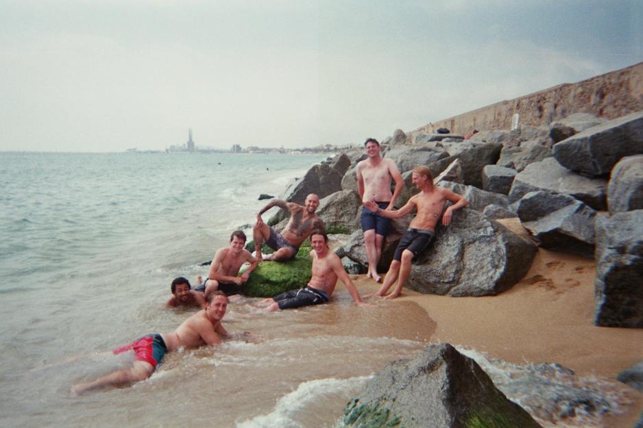 Justin-Wagner-Barcelona-strand-foto