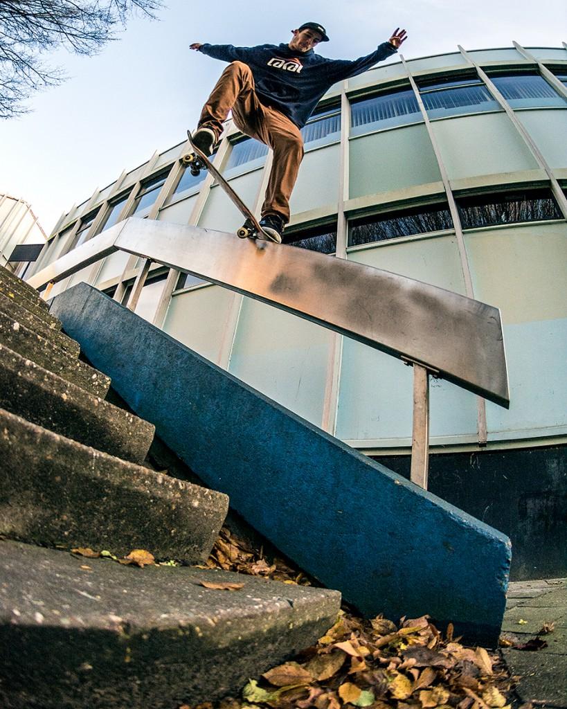 Donny Janssen, crooked / foto: Rimmert Schoorlemmer