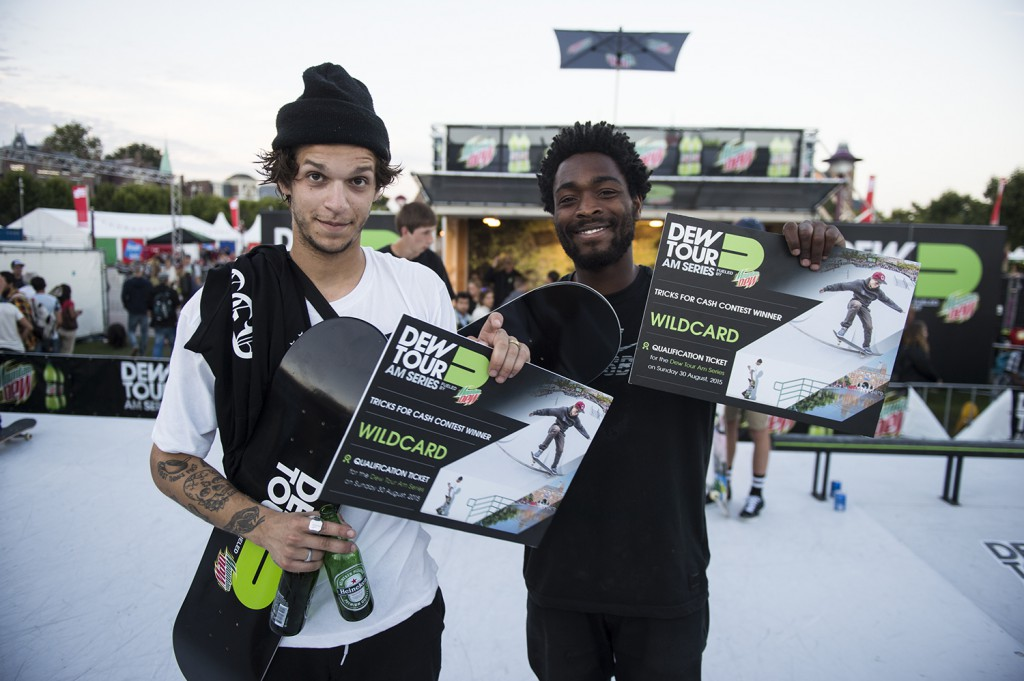Dew-Tour-AM-series-2015-wildcard-winnaars