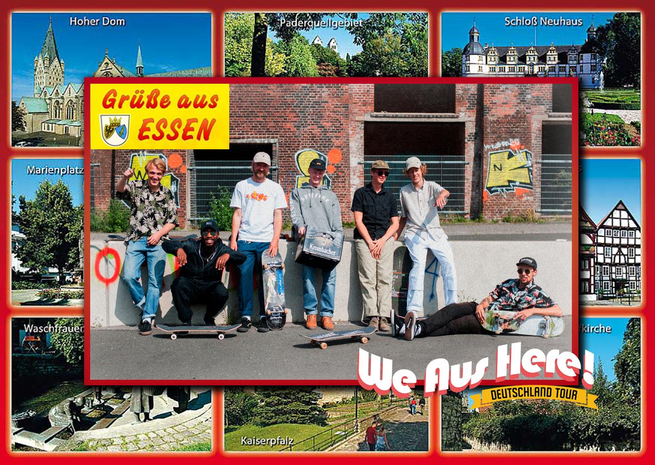 "17807eaa220 Video: Skatestore ""We Aus Here Tour"" – Flatspot Magazine – Skateboarden in  Nederland"