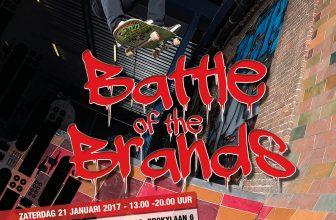 Deelnemerslijst Battle of the Brands 2017