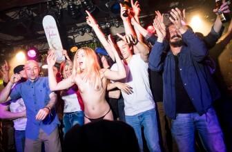 FOTO'S  & VIDEO: FALUS X MEIDEN VAN HOLLAND PARTY IN UTRECHT (18+)