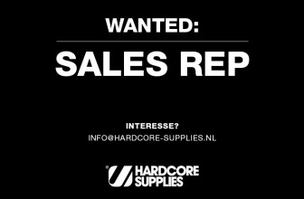 WANTED: HARDCORE SUPPLIES SALES REP