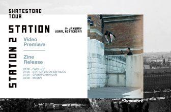 Premiere: Skatestore Station 2 Station Tour